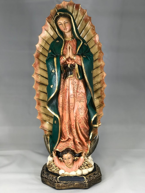 """17"""" Our Lady of Guadalupe 