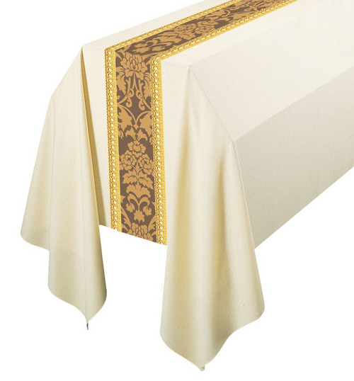 #3358 Gold Embroidered Funeral Pall | 6' x 10' | 100% Wool