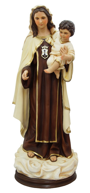 "32"" Our Lady of Mount Carmel Statue 