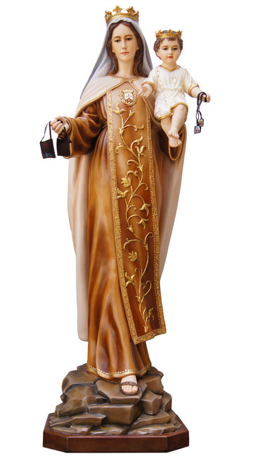 "57"" Our Lady of Mount Carmel Statue 