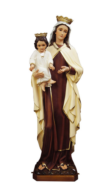 """53"""" Our Lady of Mount Carmel Statue 