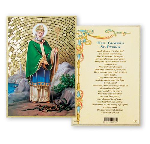 St. Patrick Gold Foil Mosaic Plaque