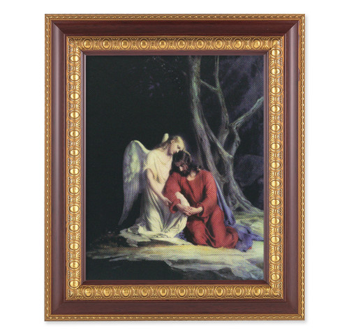 Agony in the Garden Cherry Gold Framed Art