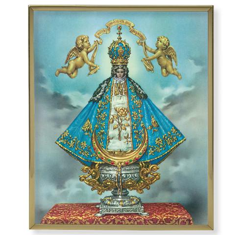 Virgen de San Juan Plain Gold Framed Plaque Art