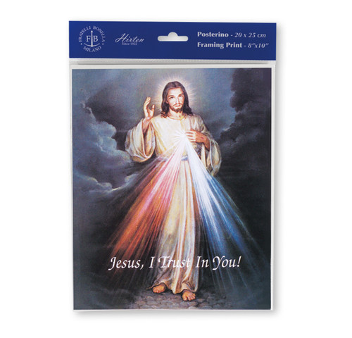 Divine Mercy Print | Set of 3