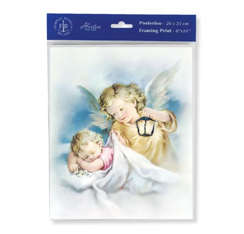 Guardian Angel with Lantern Print | Set of 3