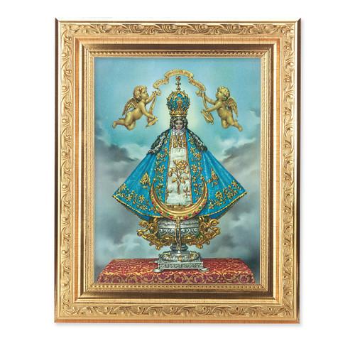 Virgen de San Juan Ornate Antique Gold Framed Art