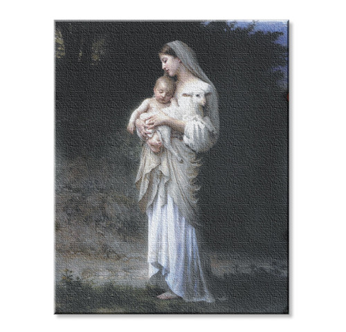 Divine Innocence Canvas Print