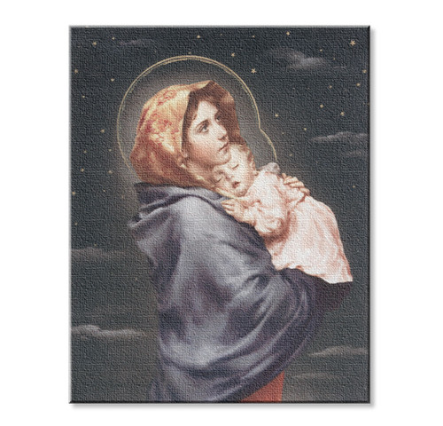Madonna of the Street Canvas Print