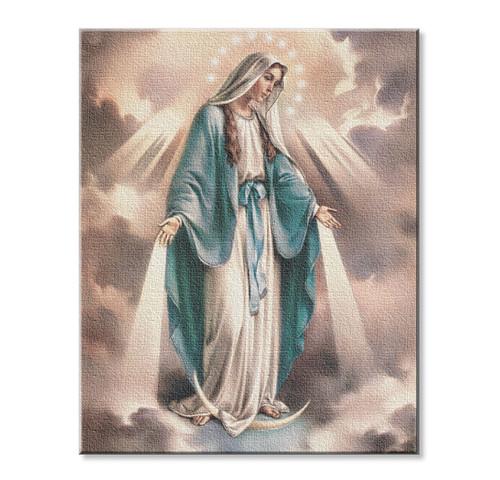Our Lady of Grace Canvas Print