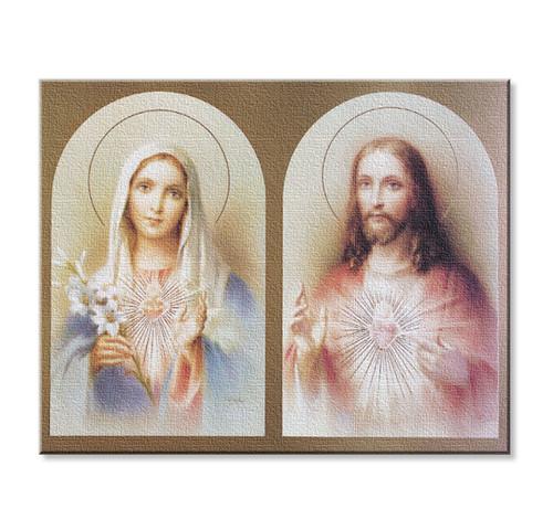 The Sacred Hearts Canvas Print