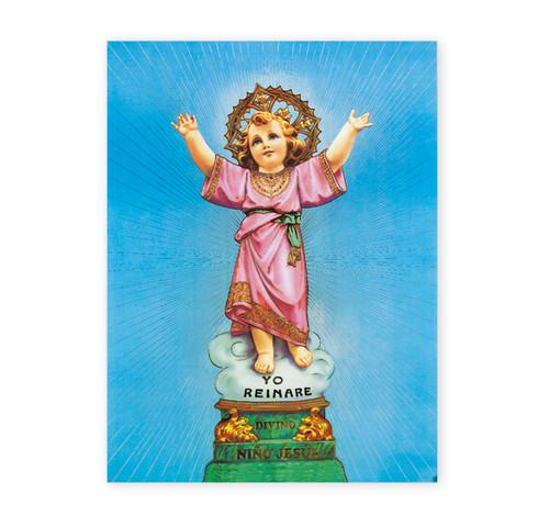 Divino Nino Italian Lithograph Poster