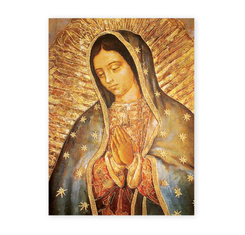Our Lady of Guadalupe Italian Lithograph Poster