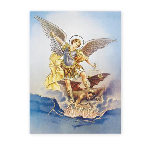 St. Michael Italian Lithograph Poster