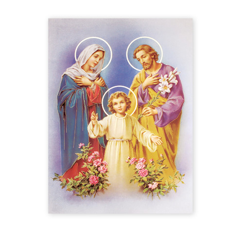 Holy Family Italian Lithograph Poster | Style A