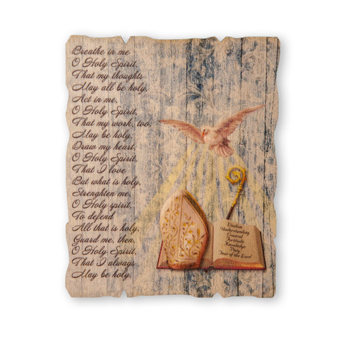 "Confirmation Wood Wall Plaque | 5"" x 4"""