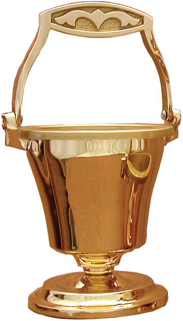 #30PS77 Holy Water Pot & Sprinkler | Multiple Finishes Available