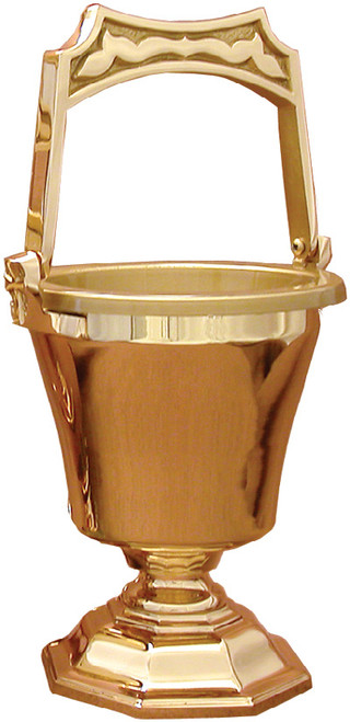 #30PS55 Holy Water Pot & Sprinkler | Multiple Finishes Available