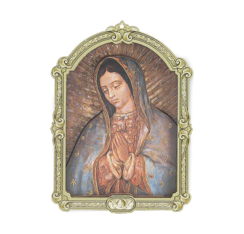 Our Lady of Guadalupe Wood 3D Plaque | 5""