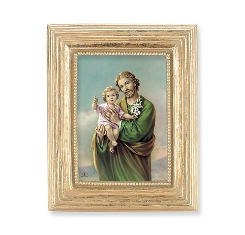 St. Joseph Square Framed Print | Gold Frame
