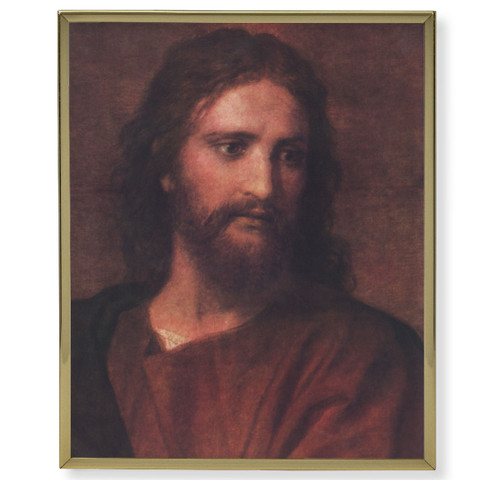 "Christ at 33 Gold Framed Art | 11"" x 14"""