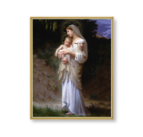 "Divine Innocence Gold Framed Art | 11"" x 14"""