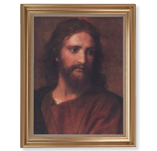 "Christ at 33 Classic Gold Framed Art | 11"" x 14"""
