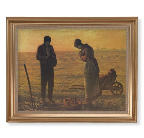 "The Angelus Classic Gold Framed Art | 11"" x 14"""
