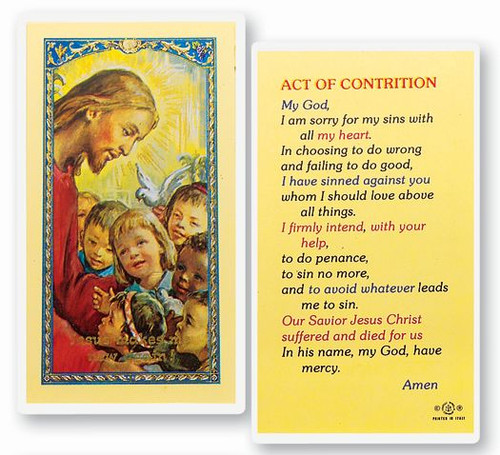 Act of Contrition Prayer