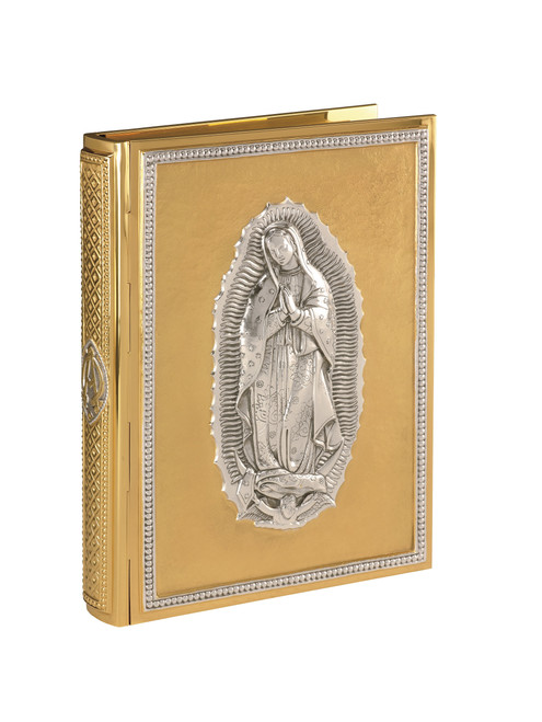 #2500 Our Lady of Guadalupe Book of Gospels Cover | Multiple Finishes Available