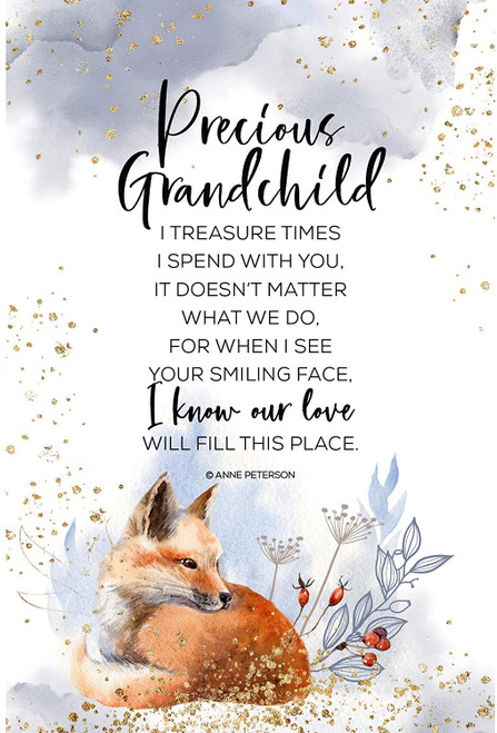 "6"" x 9"" Precious Grandchild Plaque"