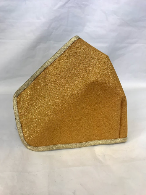 Gold Liturgical Face Mask   Lightweight Bamboo