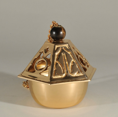 #99CEN42 Censer and Boat   Thurible   Multiple Finishes Available