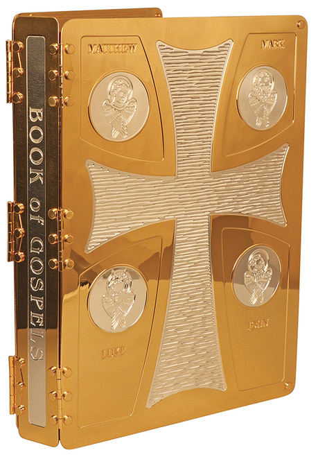 Shown in Silver & 24K Gold-Plated