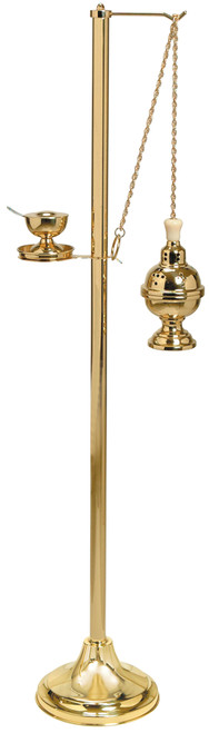 Shown in Polished Brass with Censer #K101