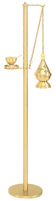 Shown in Satin Bronze with K601 Censer in Satin Bronze