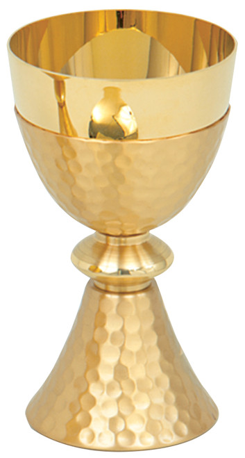 "K198 6"", 8oz. Hammered Chalice 