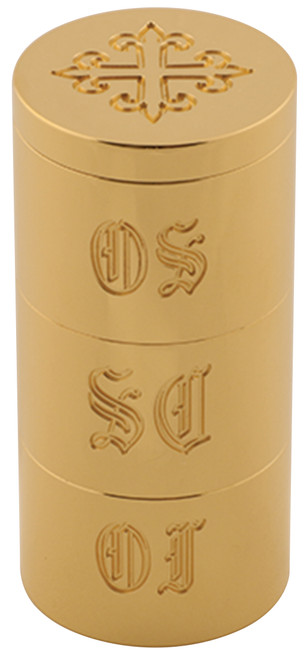K35 Engraved Triple Oil Stock | 24K Bright Gold-Plated