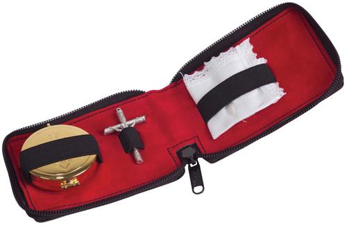 K712 Travel Sick Call Set | Soft Leather Case