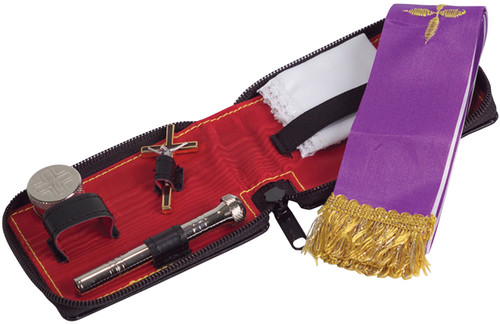 K713 Travel Sick Call Set | Soft Leather Case