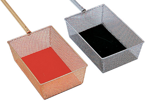 """K448 Telescoping Handle Collection Basket 
