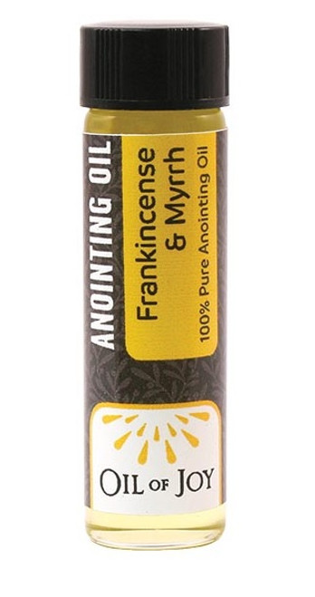 Frankincense & Myrrh Anointing Oil | 1/4 oz Mini Bottle