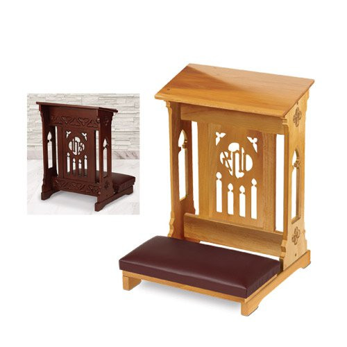 Florentine Collection Kneeler | Medium Oak Stain