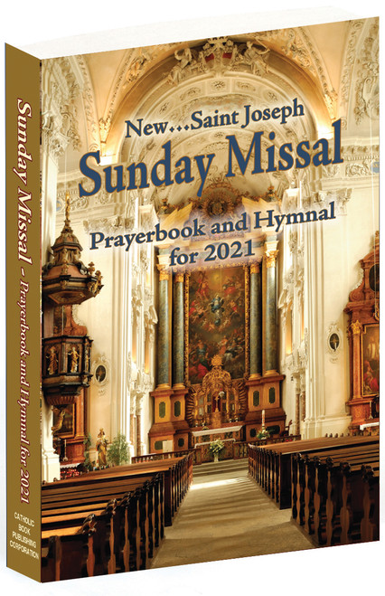 St. Joseph Sunday Missal | Annual Prayerbook And Hymnal For 2021