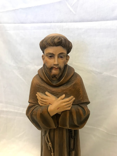 "24.5"" Standing St. Francis Statue 