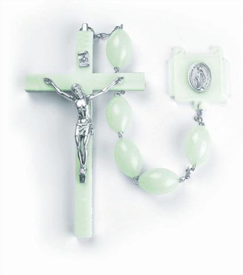 Luminous Wall Rosary | Marian Centerpiece