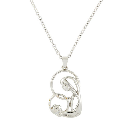 """Mother and Child Necklace 