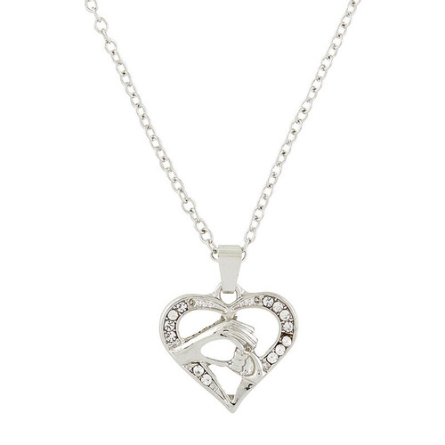 """Mom Heart Necklace 