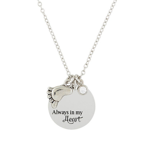 "Always in My Heart Necklace | 18"" Chain"