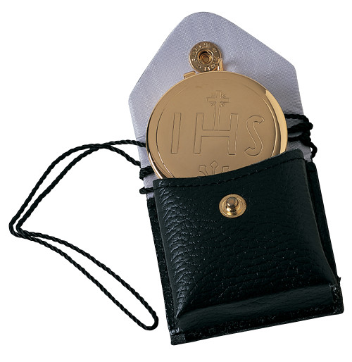 K207 IHS Pyx and Burse | 24K Gold-Plated | Holds 7 Hosts